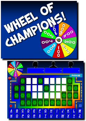 wheel of fortune spinner powerpoint