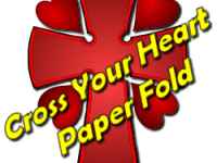Cross Your Heart Paper Fold Lesson