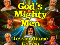 God's Mighty Men - Lesson/Game Combo