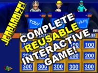 JEOPARDIZE! Complete Full-Version Game
