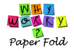 Why Worry? Paper Fold Lesson